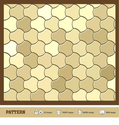 Pattern wallpaper gold vector