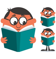Reading Book vector