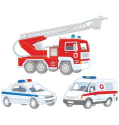Set of special transport vector