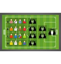 Tournament scheme vector