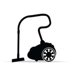 vacuum cleaner for icon vector image