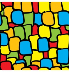 multicolor tiles abstract seamless background vector image vector image