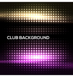 Abstract colorful disco club background vector image