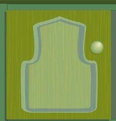 cupboard green vector image