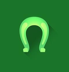 Icon of Horseshoe vector image vector image