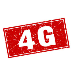 4g square stamp vector