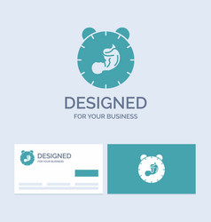 Delivery time baby birth child business logo vector