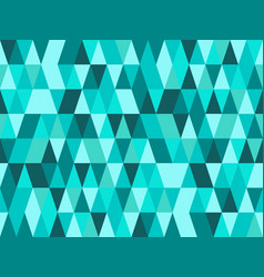 Elegant turquoise geometry seamless pattern with vector