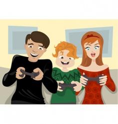 Family fun vector