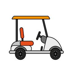 golf icon image vector image