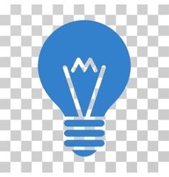 Hint bulb icon vector