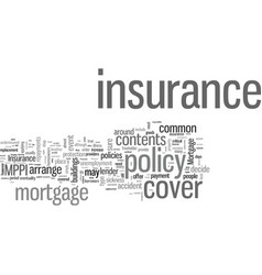 insurance an overview vector image
