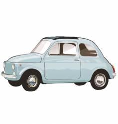 Italian retro car vector image
