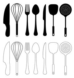 Kitchen Utensils vector