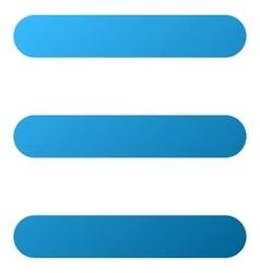 Menu Gradient Icon vector