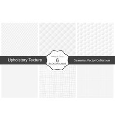 Seamless white decorative textures vector