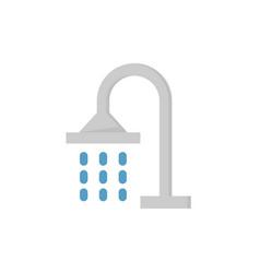 Shower head icon vector