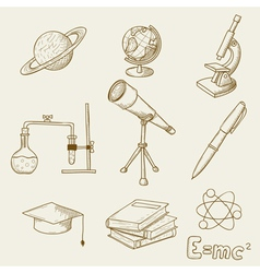 science vector image