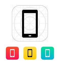 Phone screen icon vector image vector image