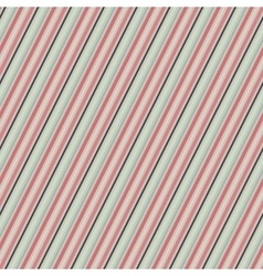Diagonal pattern in retro colors vector