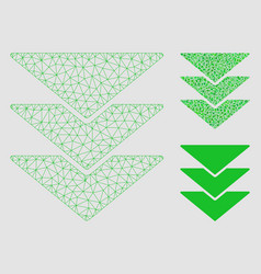 Downloads mesh carcass model and triangle vector