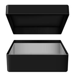 Empty gift box vector