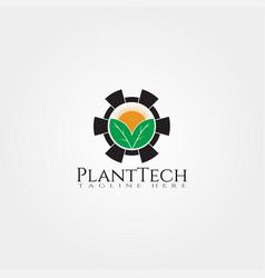 Farm icon templatecreative logo designplantation vector
