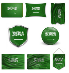 flag saudi arabia accurate dimensions vector image