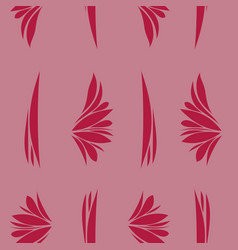 Pattern in bright style vector