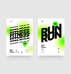 poster template design for sports event sport vector image