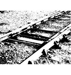 Railway lines vector