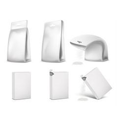 packaging package design vector image