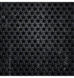 abstract plane on black wall vector image