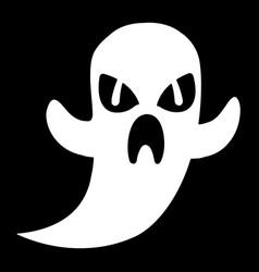 Cartoon ghost vector