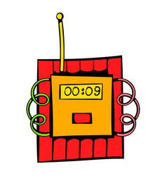 Dynamite icon icon cartoon vector