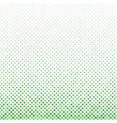 Green geometrical dot pattern - winter background vector