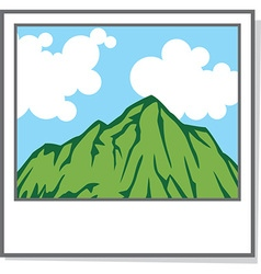 Photo of a Landscape Icon vector image