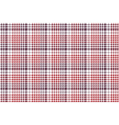 Pixel fabric texture check plaid tablecloth vector