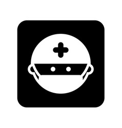 Surgeon avatar isolated icon vector