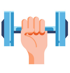 Take exercise flat vector