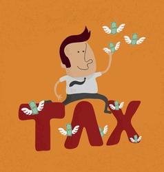 Tax2 vector image