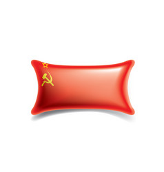 the red flag of the ussr on vector image