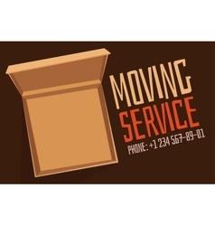 Move service box full vector image