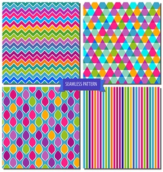 Colorful seamless pattern vector image