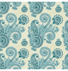 hand draw ornate vintage seamless pattern vector image vector image