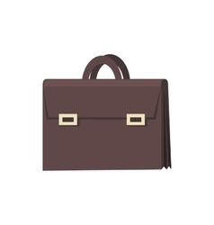 Brown Briefcase Icon vector