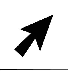 computer mouse cursor icon design vector image
