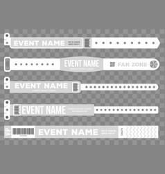 Creative of bracelets for vector