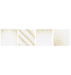 falling particles confetti on transparent vector image