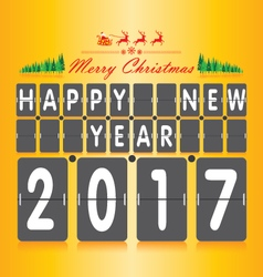 Merry Christmas and Happy New Year Numeric vector